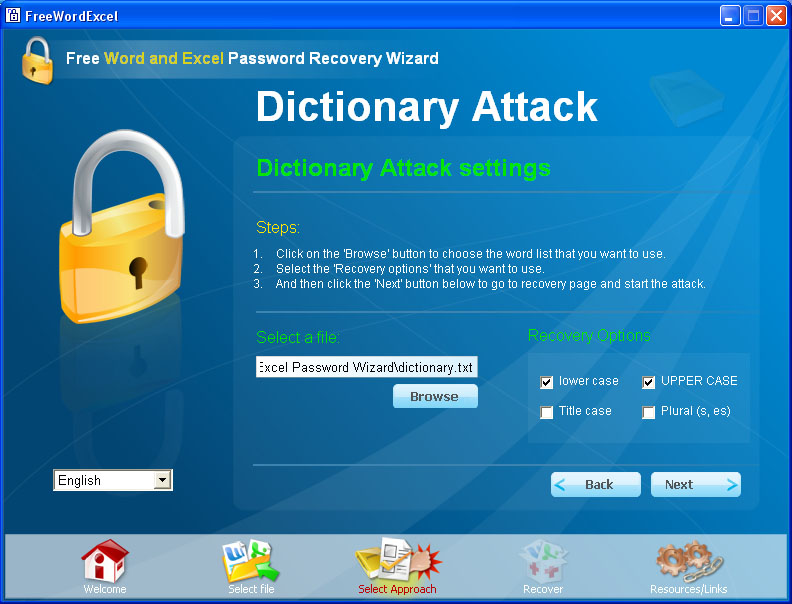 Eskay's Hacking Zone: Password Cracking: Dictionary Attack