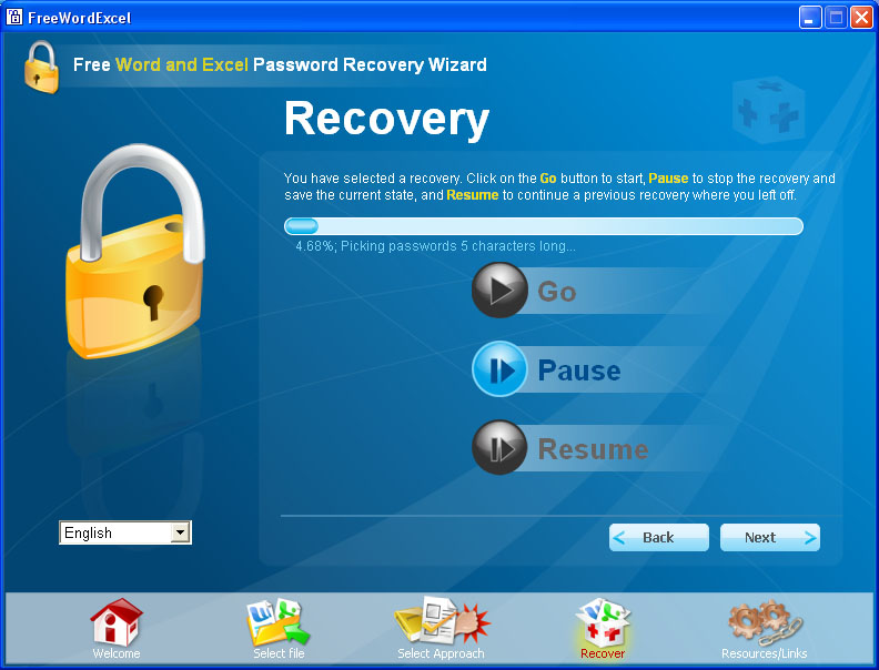 free word  excel password recovery manual with screenshots