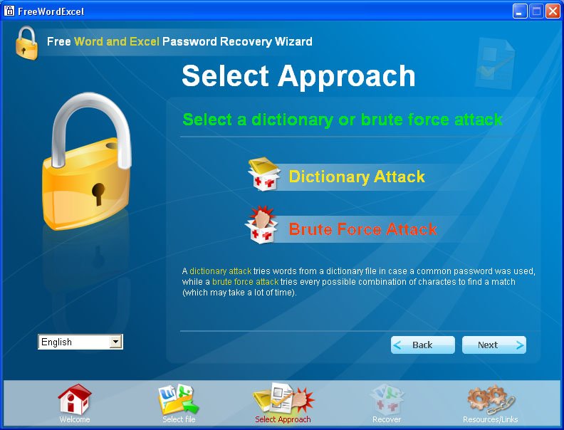 brute force excel password recovery